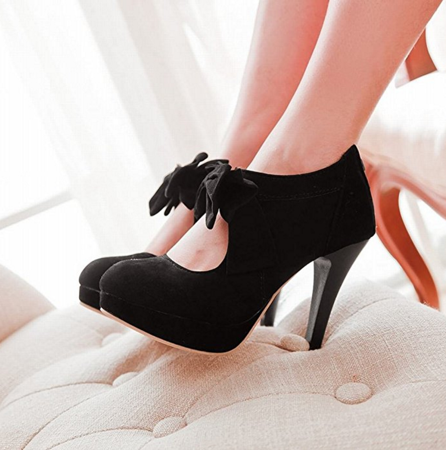 Charm Foot Womens Platform High Heel Summer  Ankle Boots .