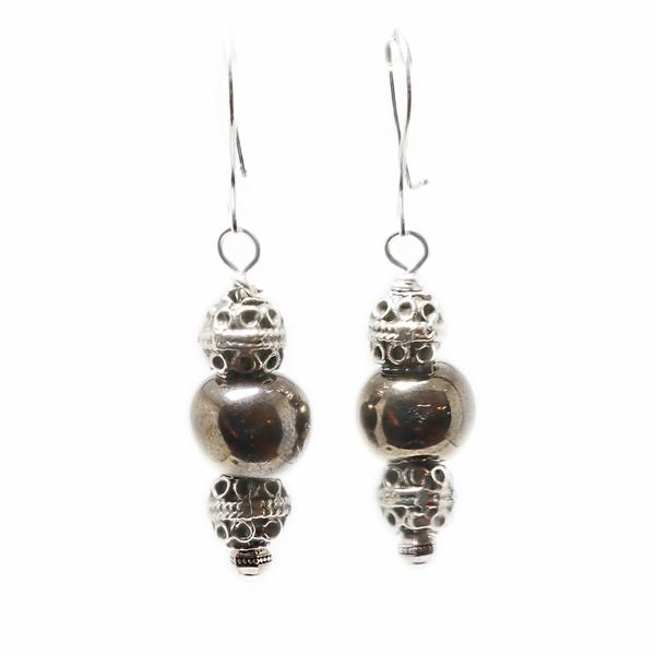 The  Royal Bronze Earrings  are a gorgeous addition to your artisan jewelry collection.