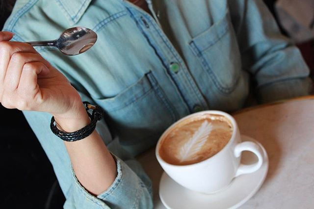 Make sure you bring the  Sampson  wrap bracelet on your next coffee date.
