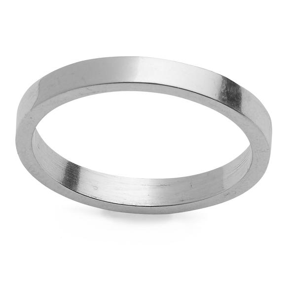 Smooth Sterling Silver Ring  is always a perfect ring choice for stacking as it compliments any other ring from the  Sterling Silver Ring Collection .