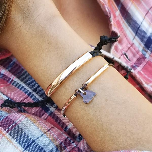 Stacked Adjustable Bracelet Set with Loyalty and Whimsy Bracelets