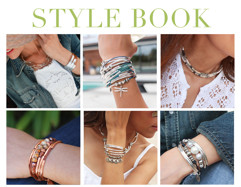 Shoppable style guide