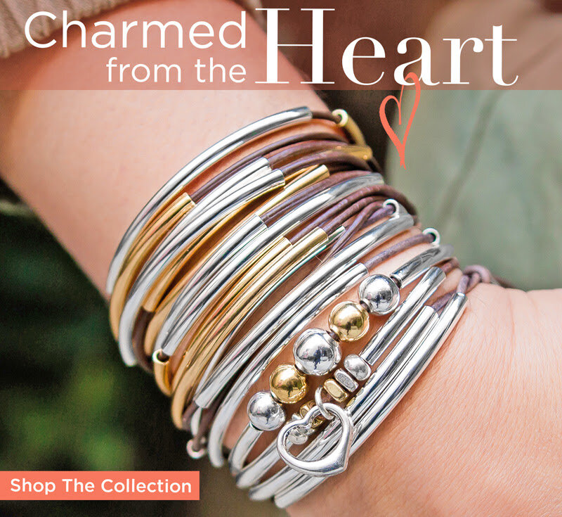 XOXO Italian Charm Bracelet Charms Link Valentines Day February