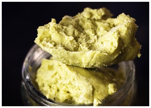 Raw, organic, unrefined, shea butter