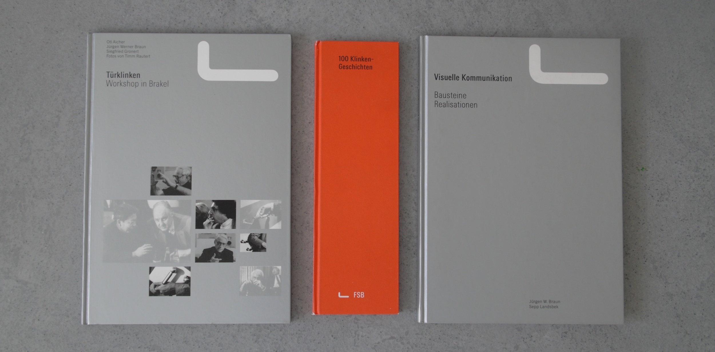 Publikationen für das Haus FSB in Zusammenarbeit mit otl aicher