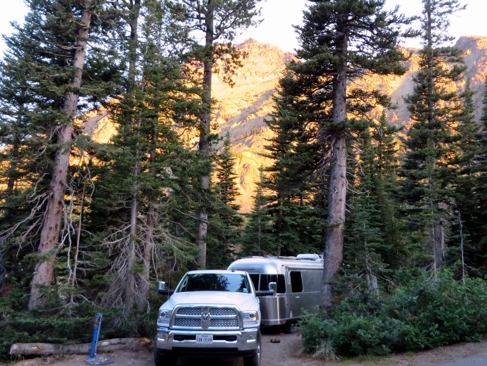 Breathe in! - A tight squeeze at Two Medicine FCFS Campground