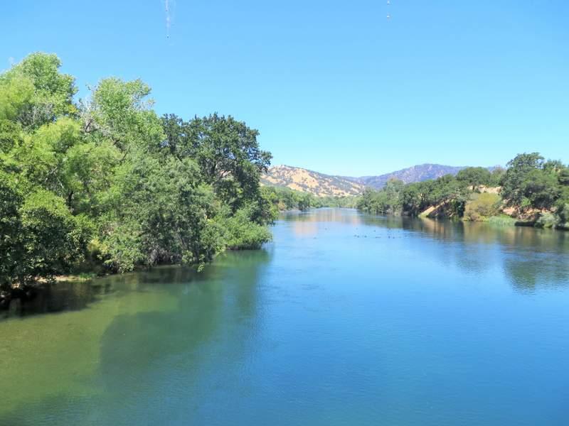 Serene water at Lake Solano