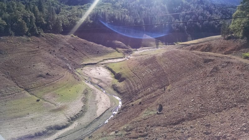 Wow! This is what the California drought looks like