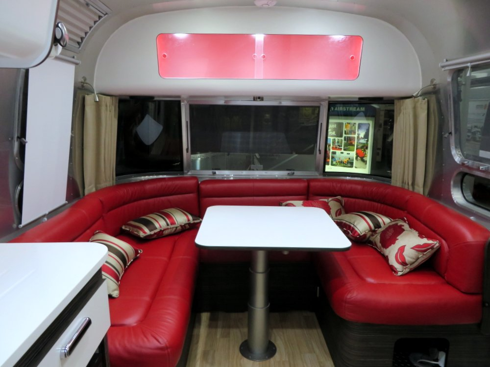 U Shaped dinette with comfy foam and high end leather upholstery