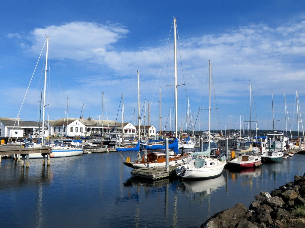 Beautiful Victorian Town of Port Townsend