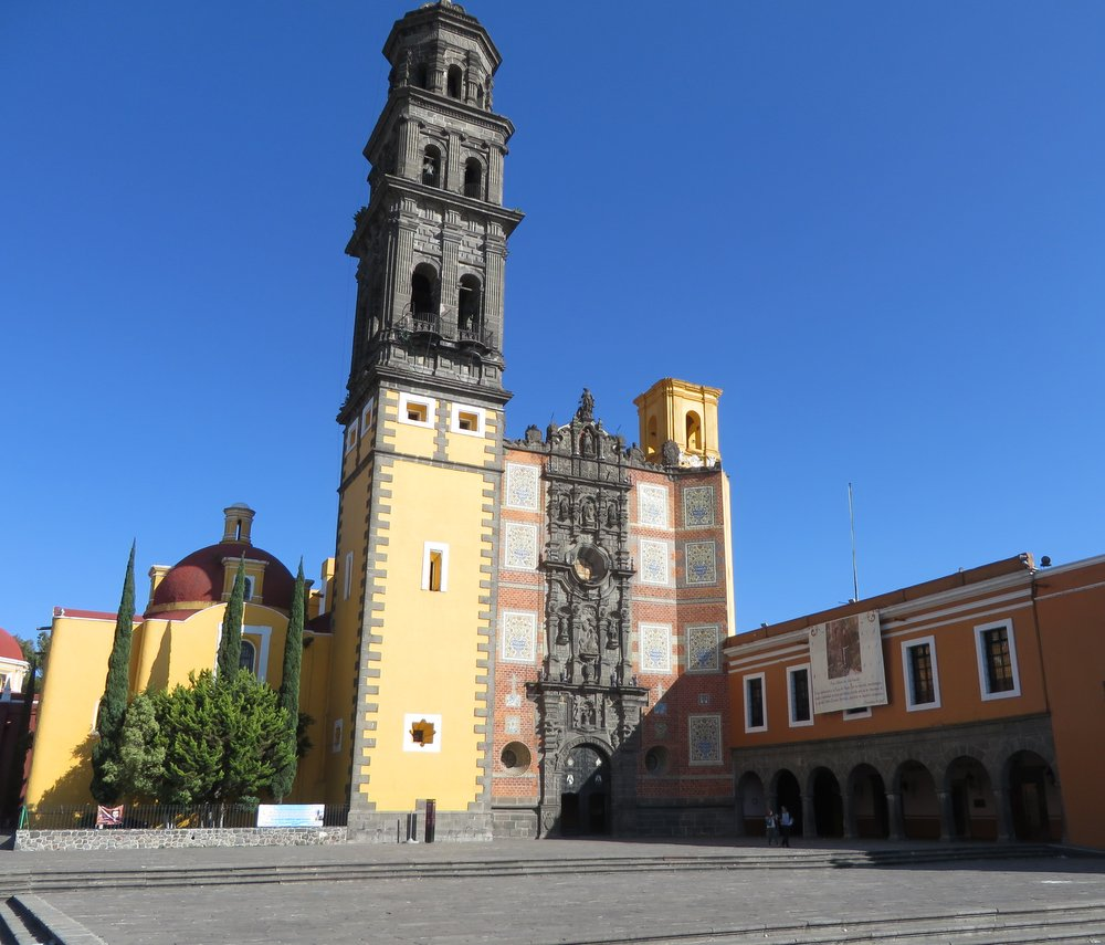 The Templo de San Francisco dates back to 1550 and was completed in 1767.
