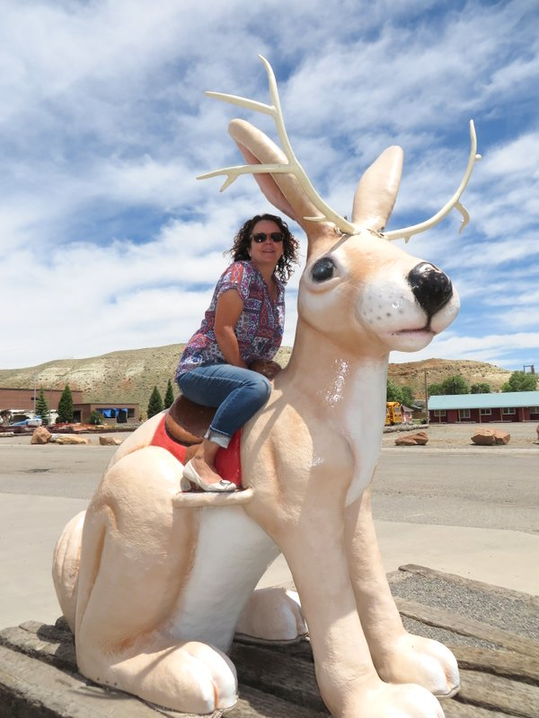 We're in Jackalope country