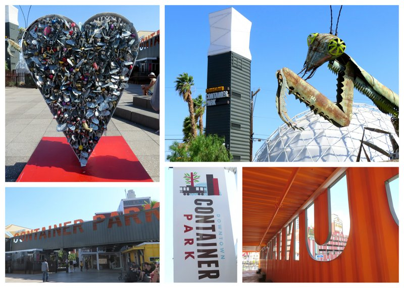 The Downtown Container Park. A bright spot in the city