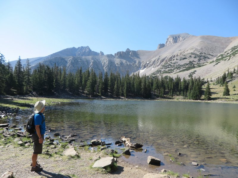 Morning hike in Great Basin National Park