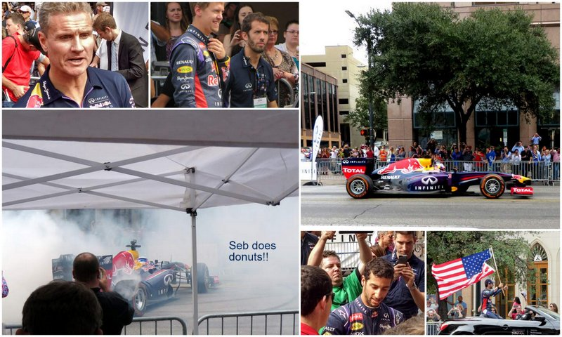 Red Bull Tear up Congress in Downtown Austin