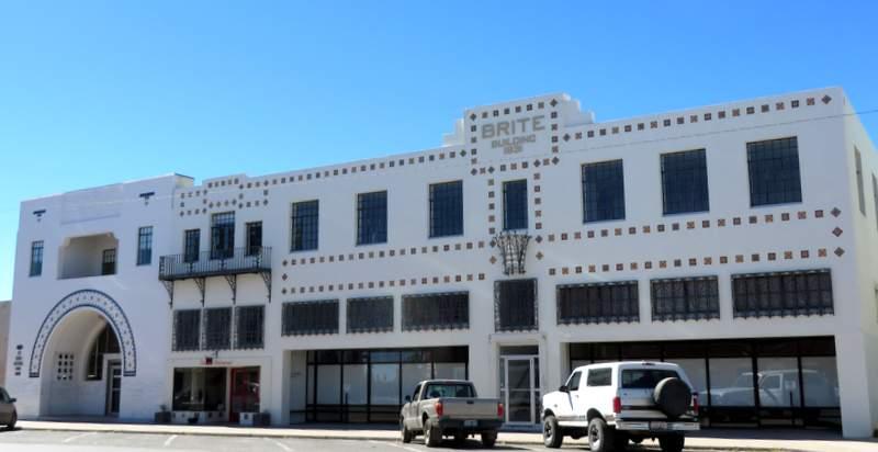 My favorite building in Marfa