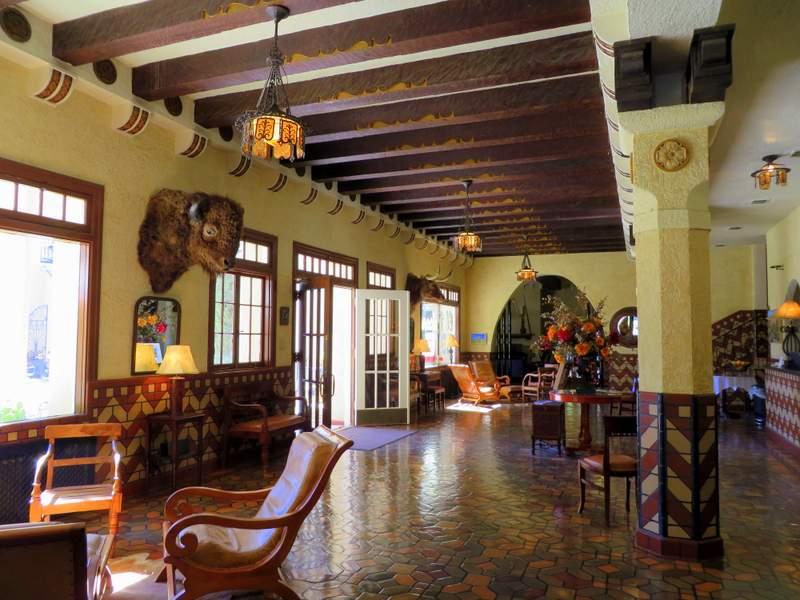 The luscious El Paisano Hotel