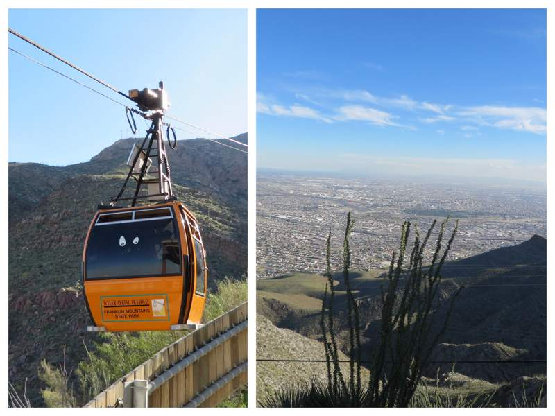 Wyler Aerial Tramway. For a view over El Paso & Juarez