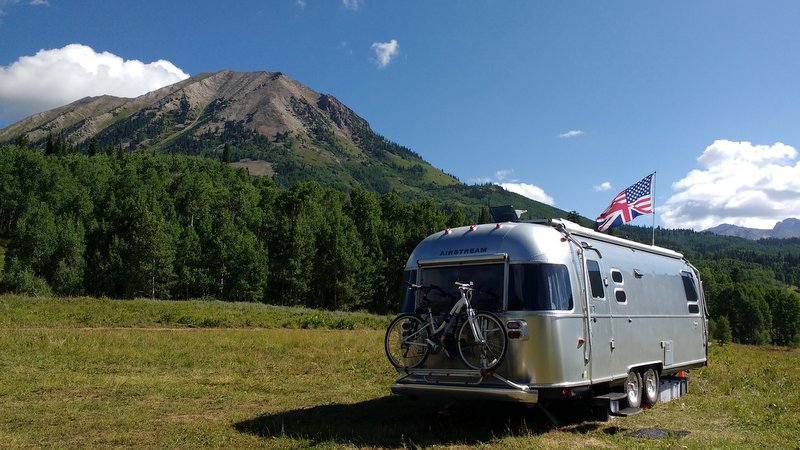Scenic Boondocking in Crested Butte