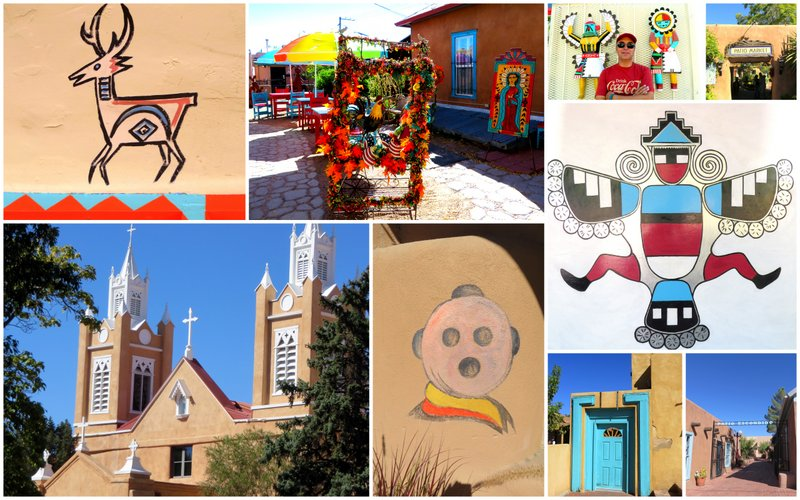 Old Town Albuquerque, touristy but pretty