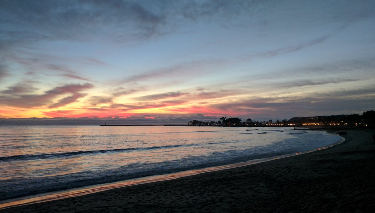 We never tired of Dana Point Sunsets