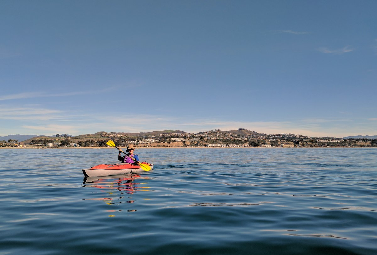 Taking advantage of a non-rainy day. The first time we ave taken our inflatables on the ocean.