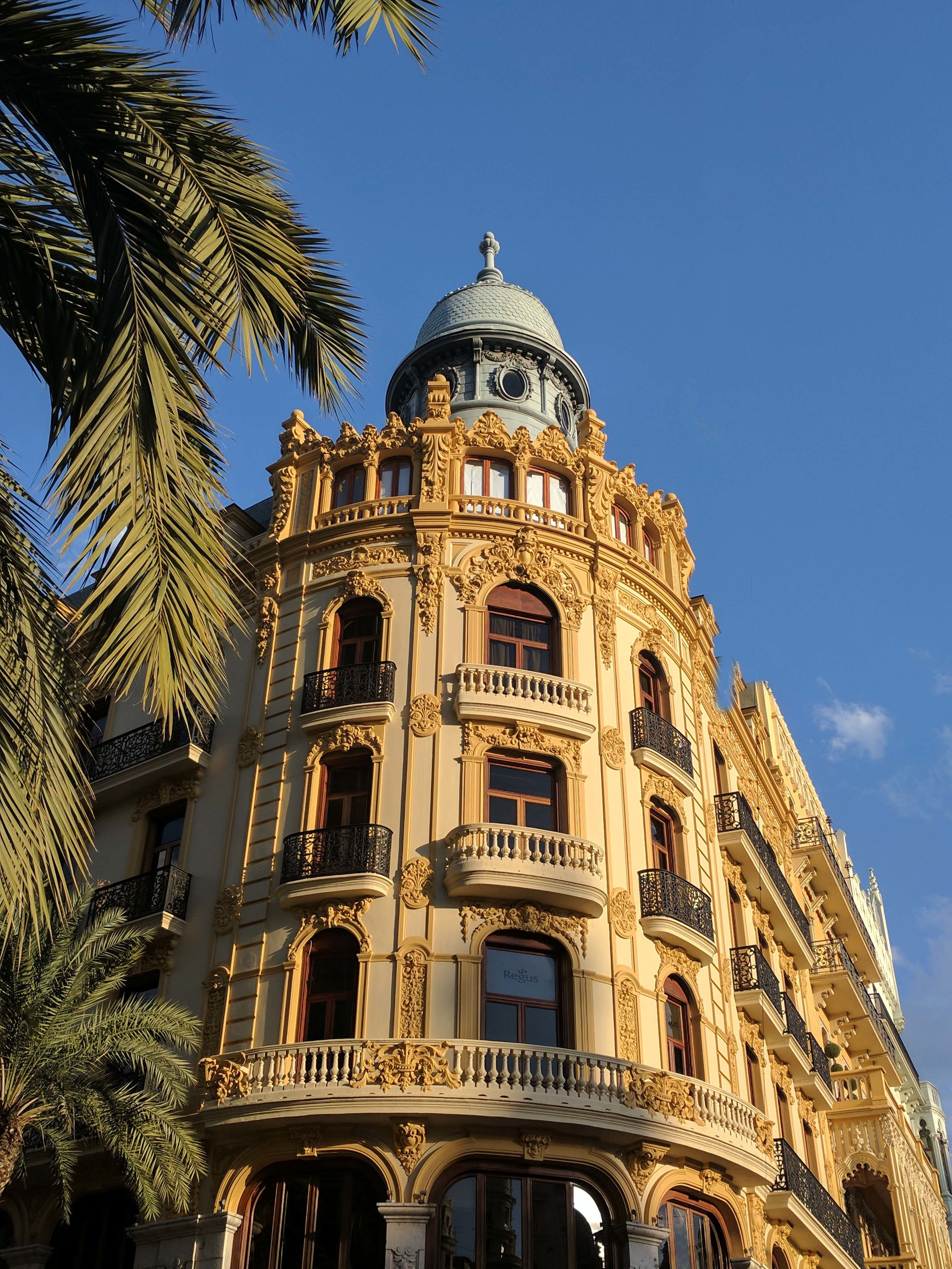 Another Beautiful Building in Valencia