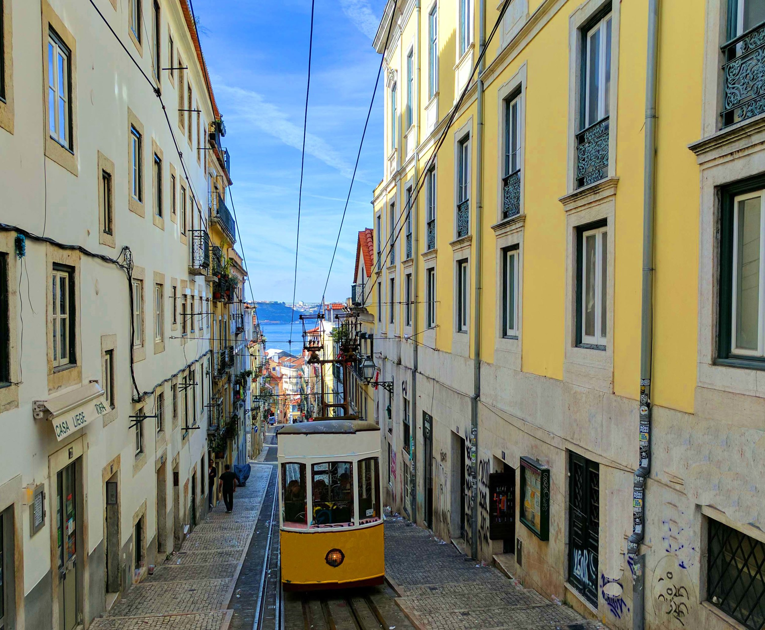 Lisbon is also famous for elevadores and trams
