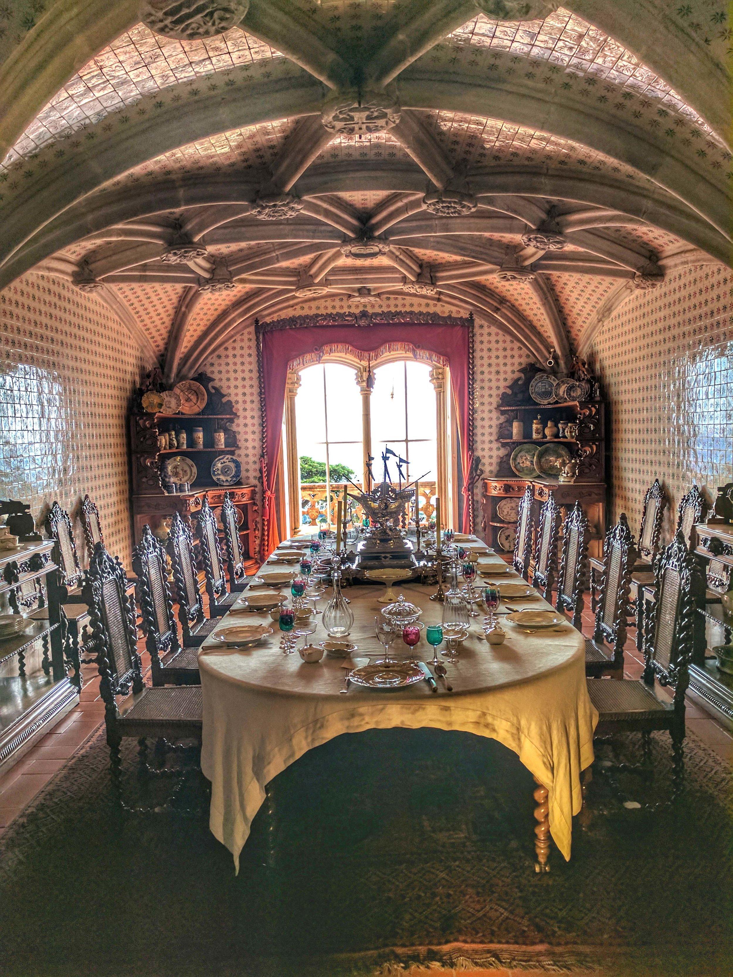 Sumptuous Interior of Pena Palace