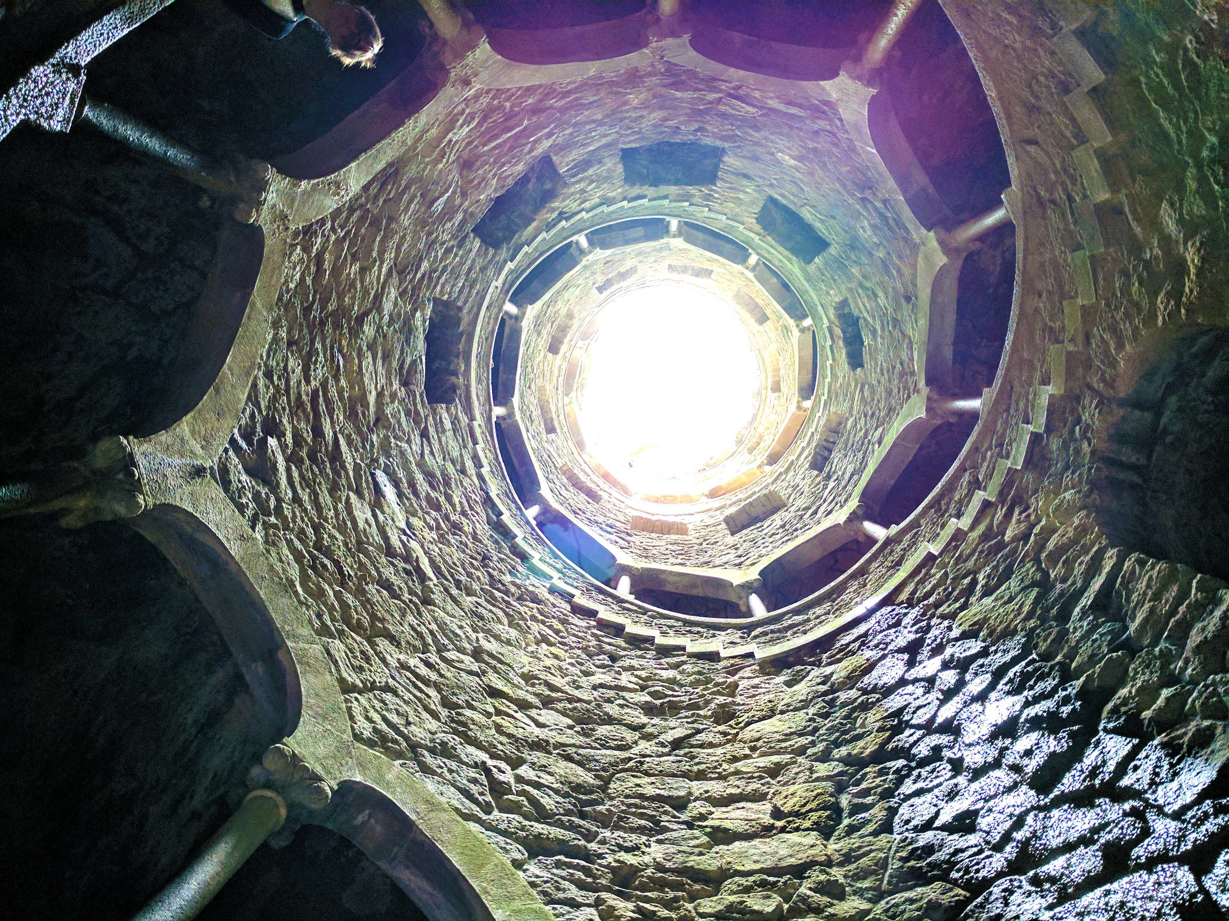 And looking up from the bottom
