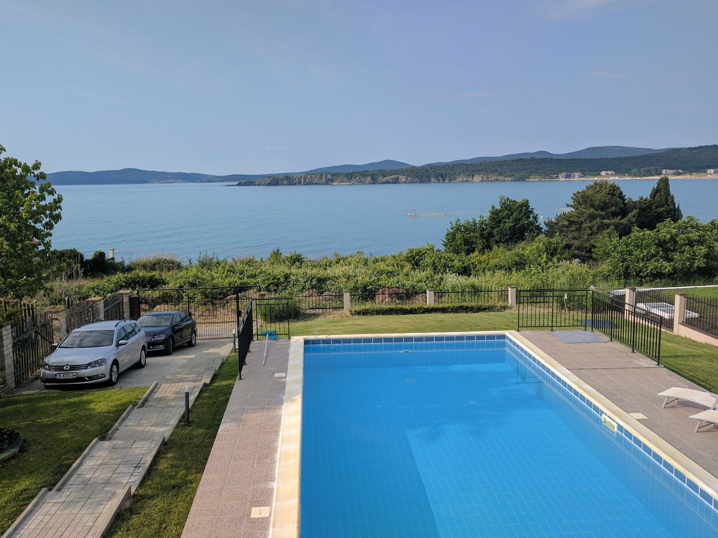 It was tough to leave this view from our villa in Bulgaria behind, but coming to Valencia was a nice consolation