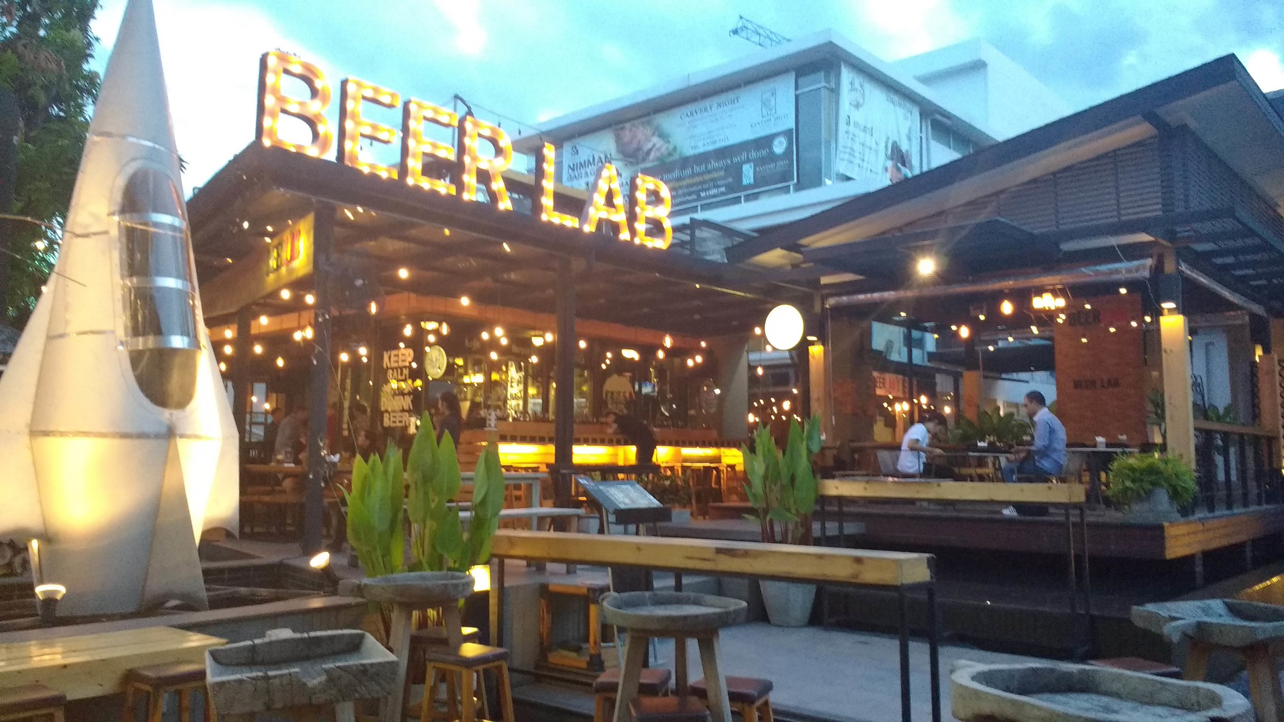 Hipster Beer Bar in Chiang Mai, Thailand