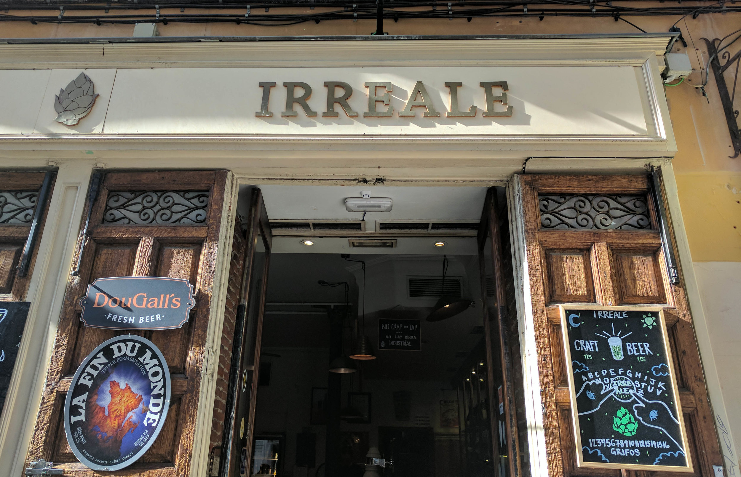 Cool Craft Beer Bar in Madrid