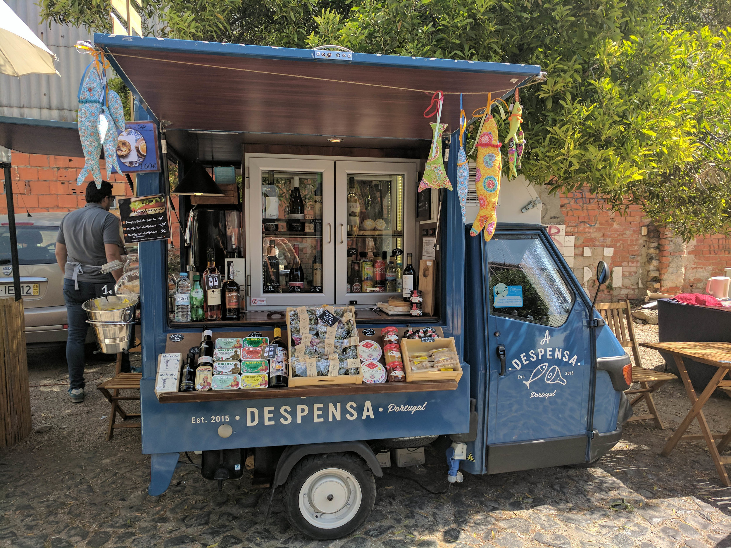 Food trucks and pretentious coffee shops are ubiquitous
