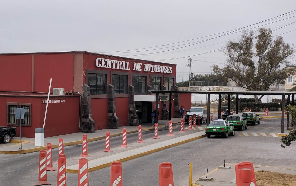 Your destination: Bus station in San Miguel de Allende