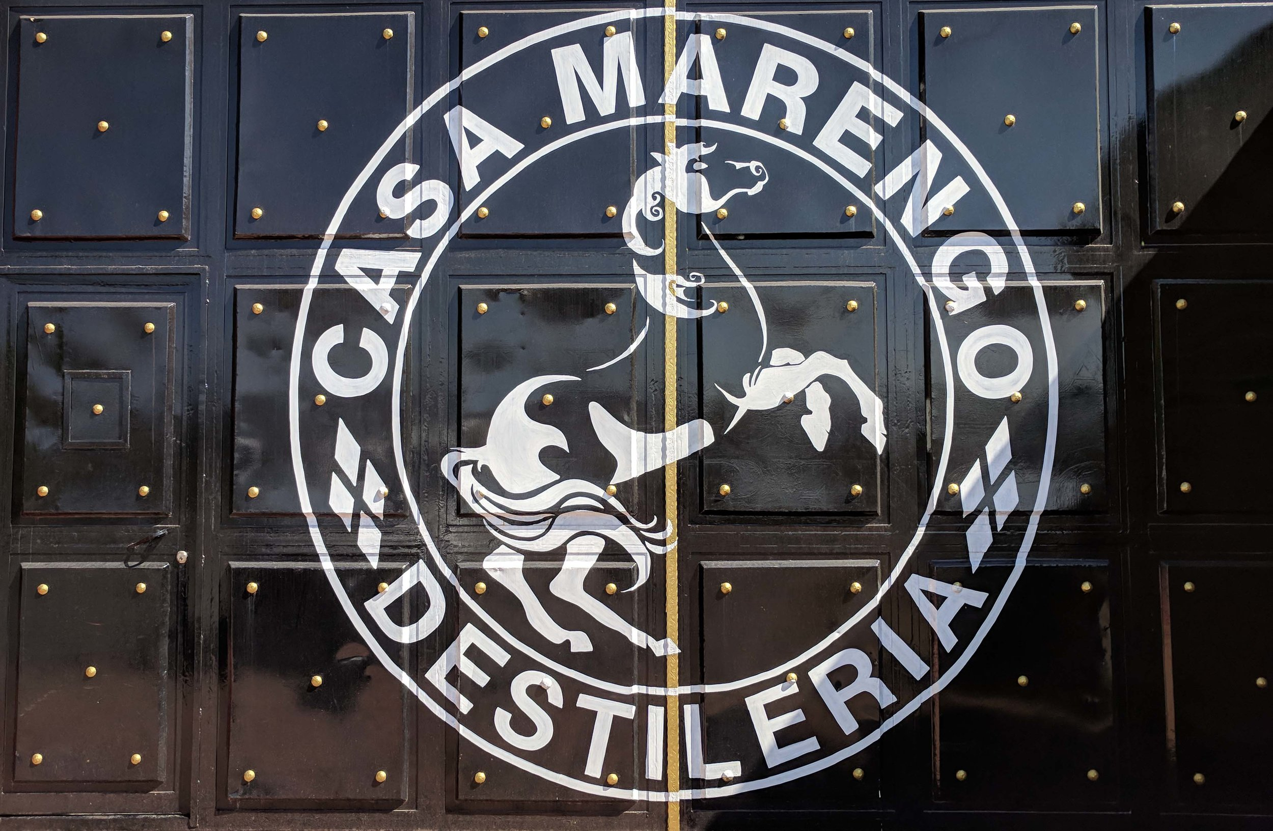 Our first stop at Casa Marengo