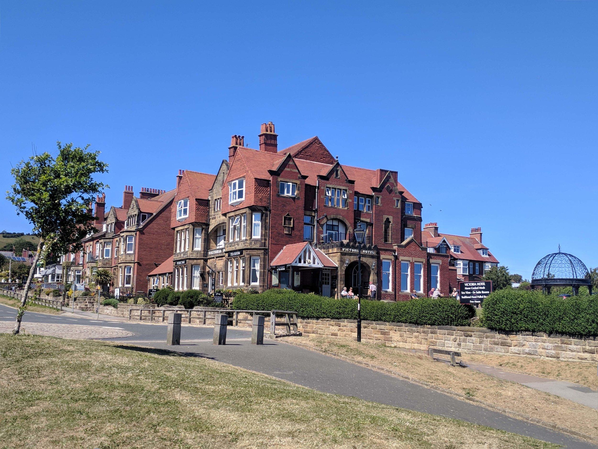 Splendid hotel in Robin Hoods Bay