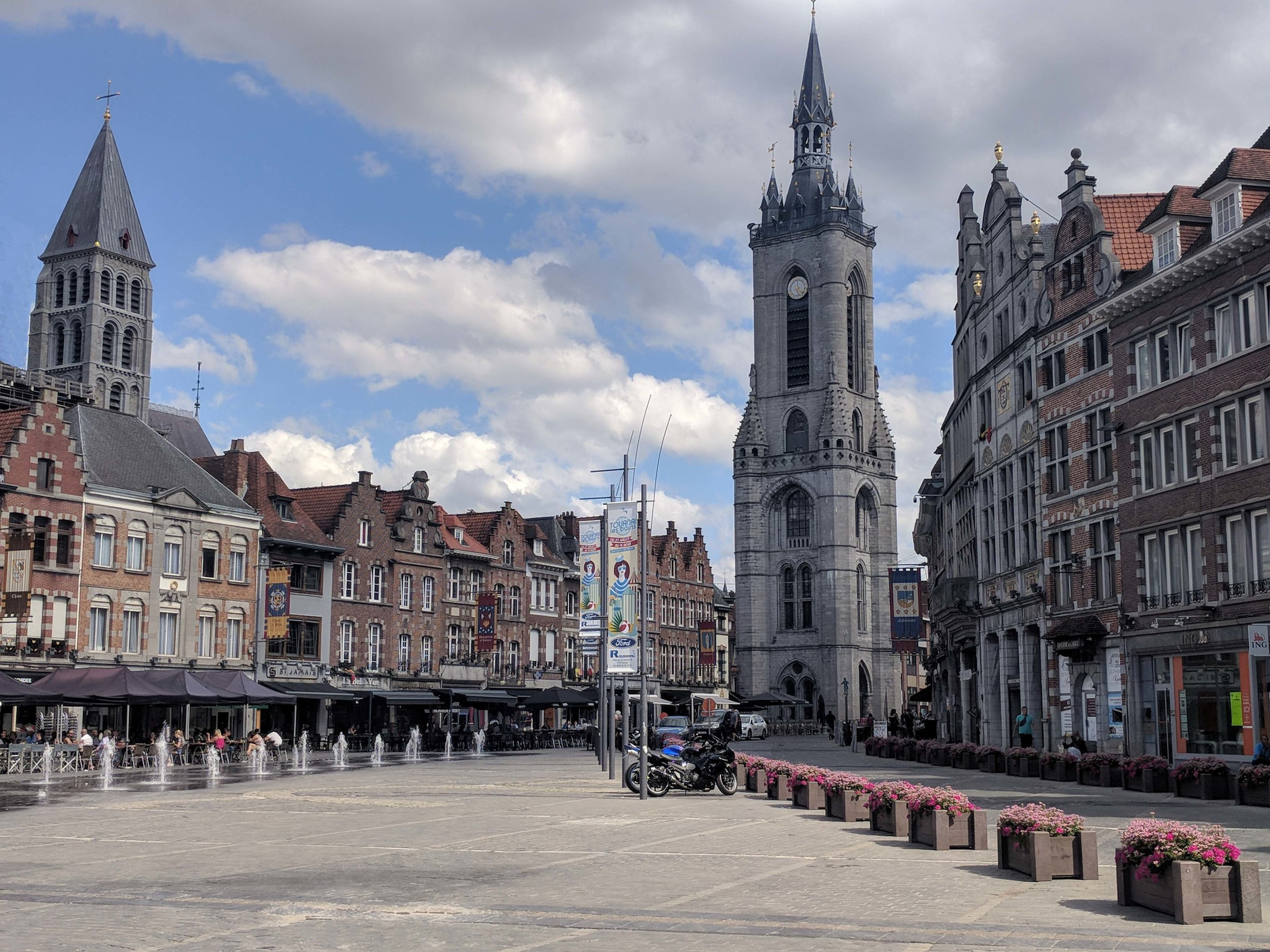 Grand Place in Tournai