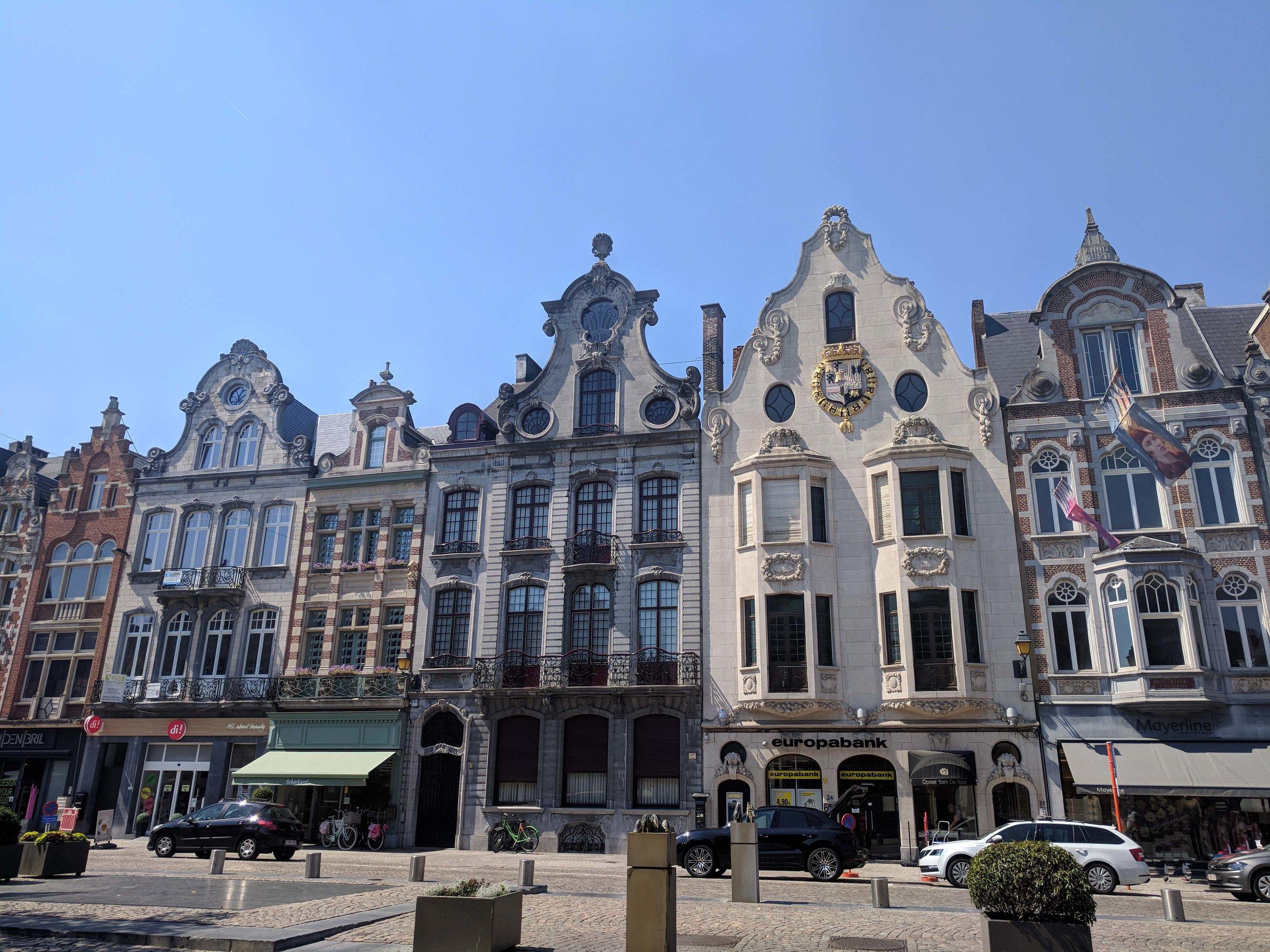 Lovely architecture in Mechelen