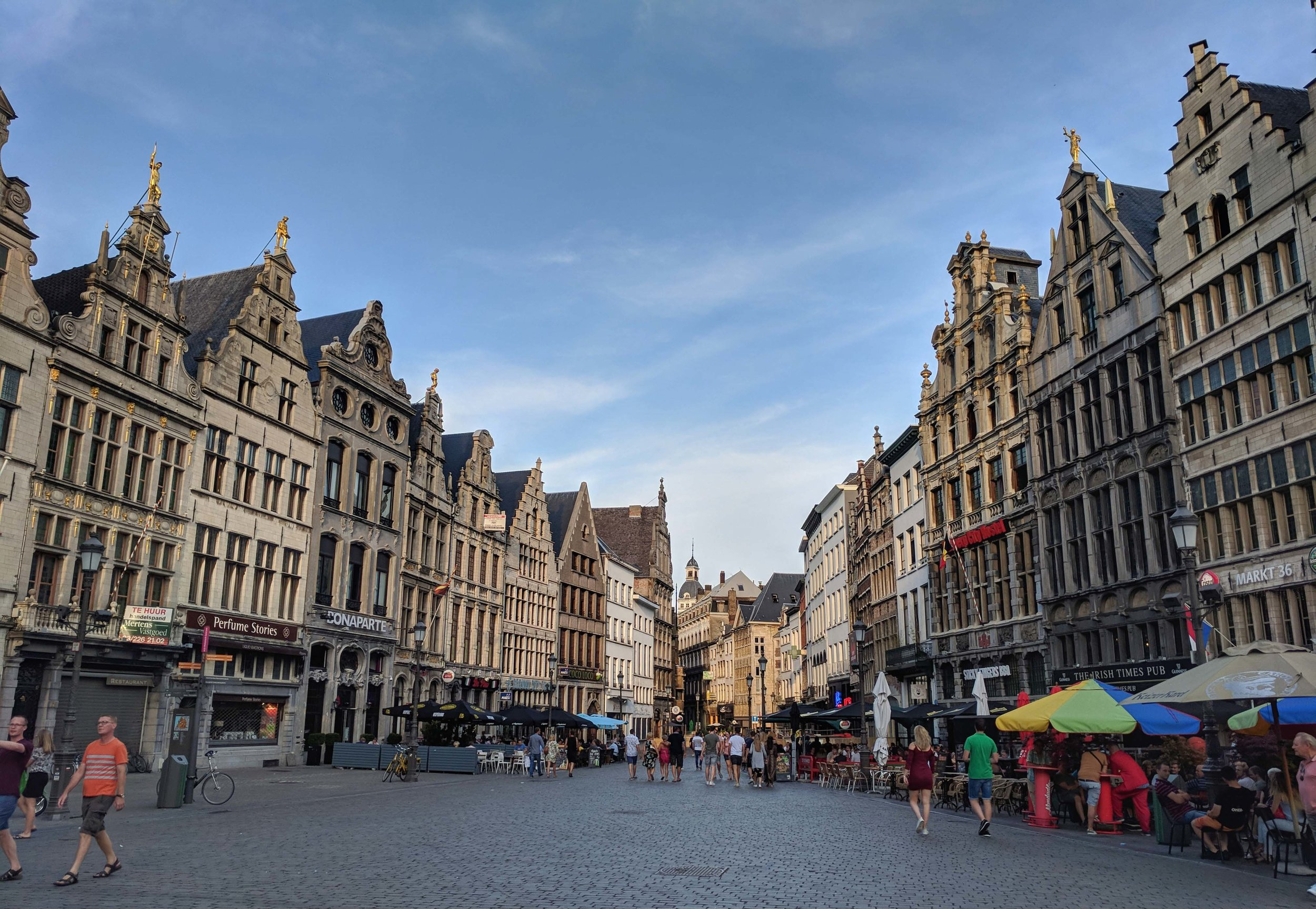 More fabulous architecture in Antwerp