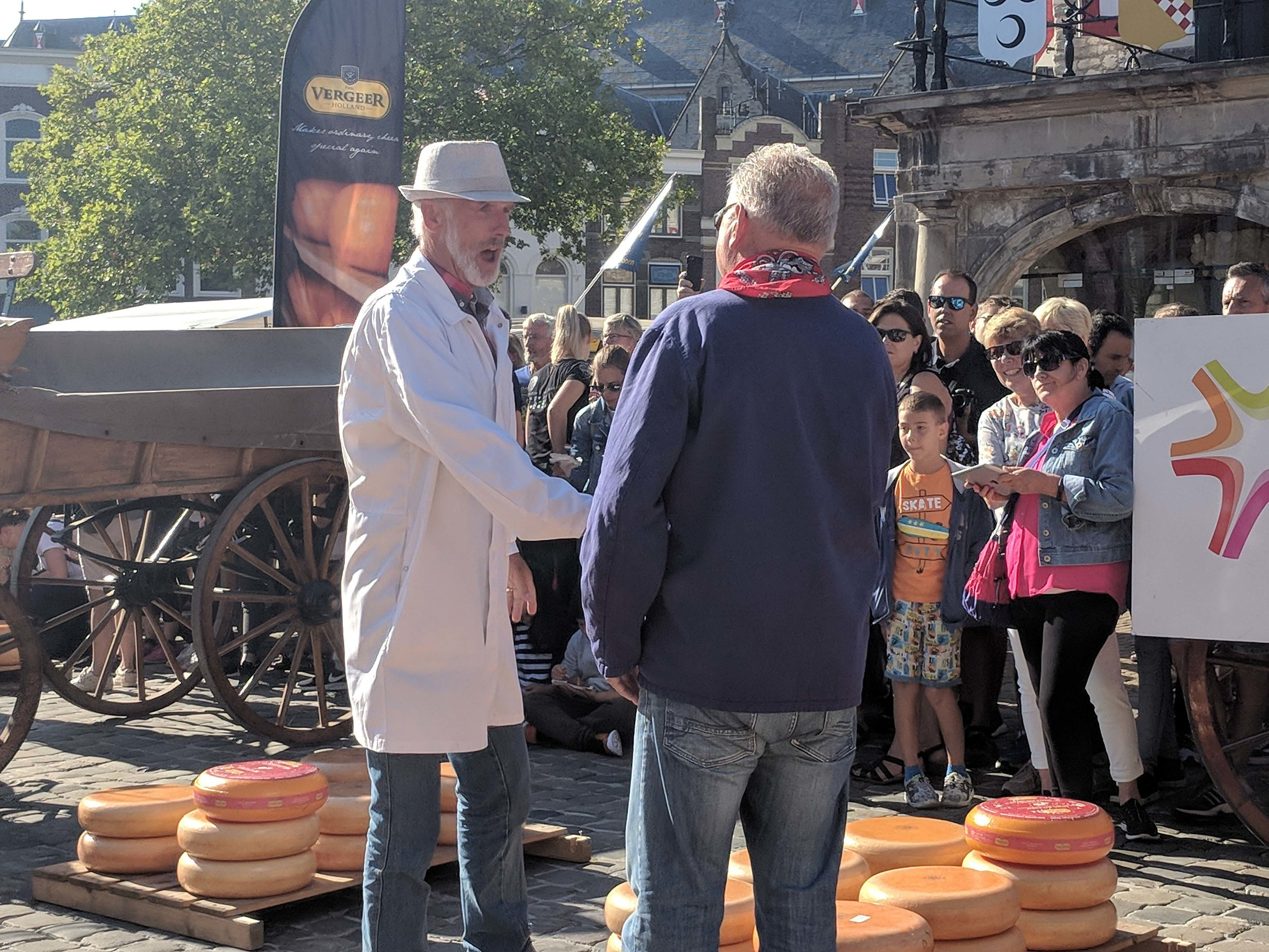 Negotiating the price of cheese