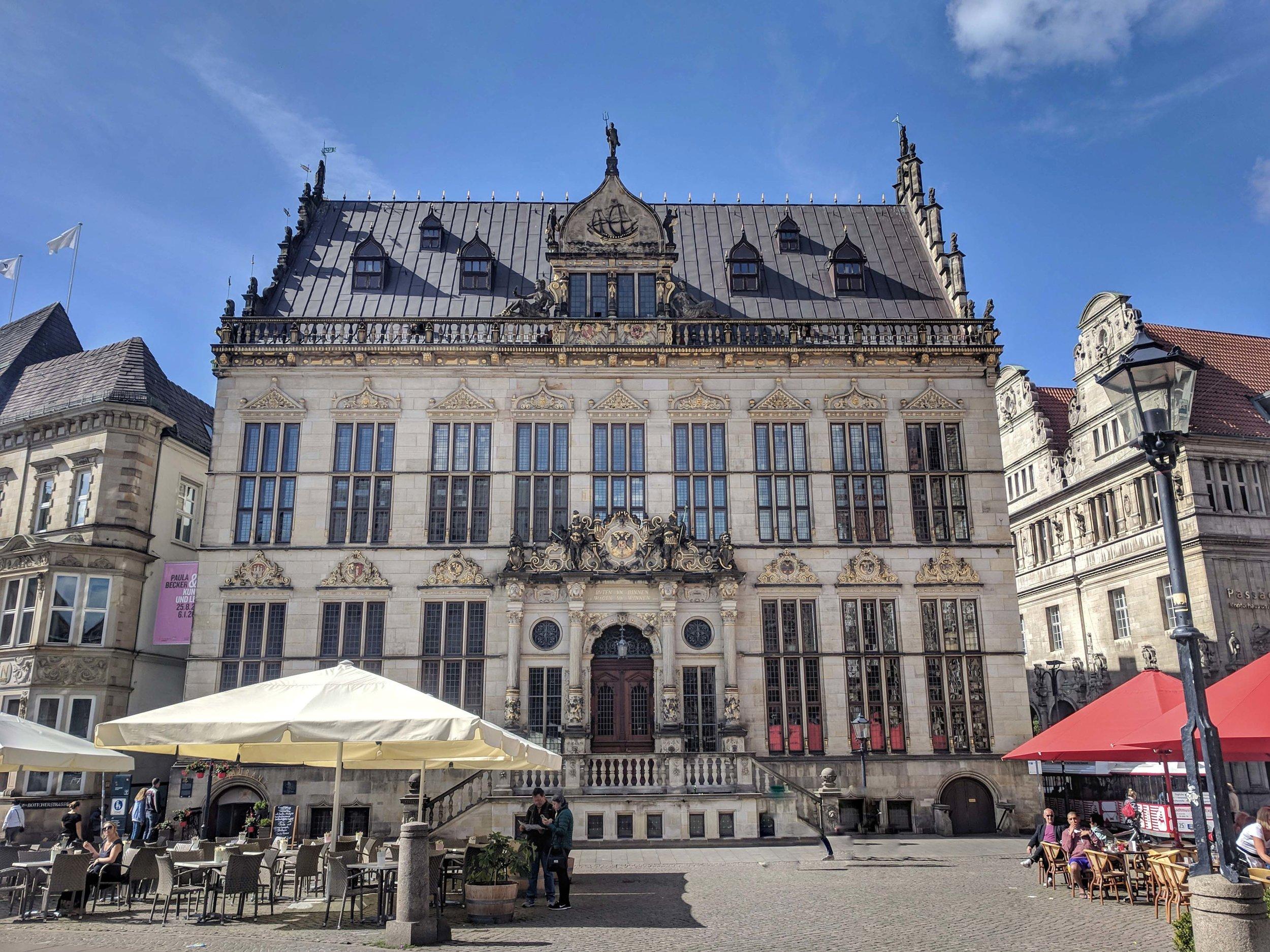 More stunning architecture of Marktplatz