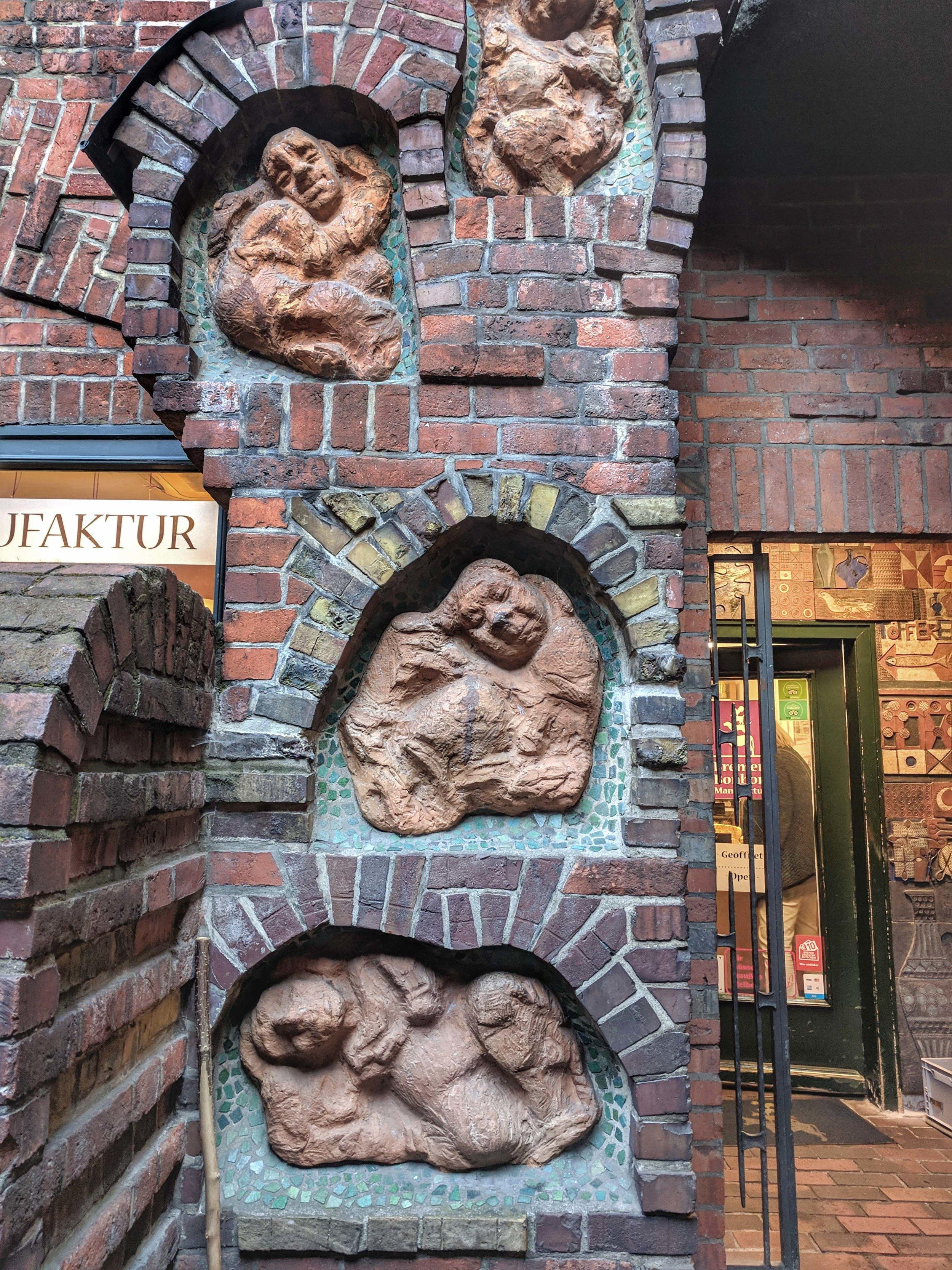 Böttcherstrasse; a very interesting area of the city