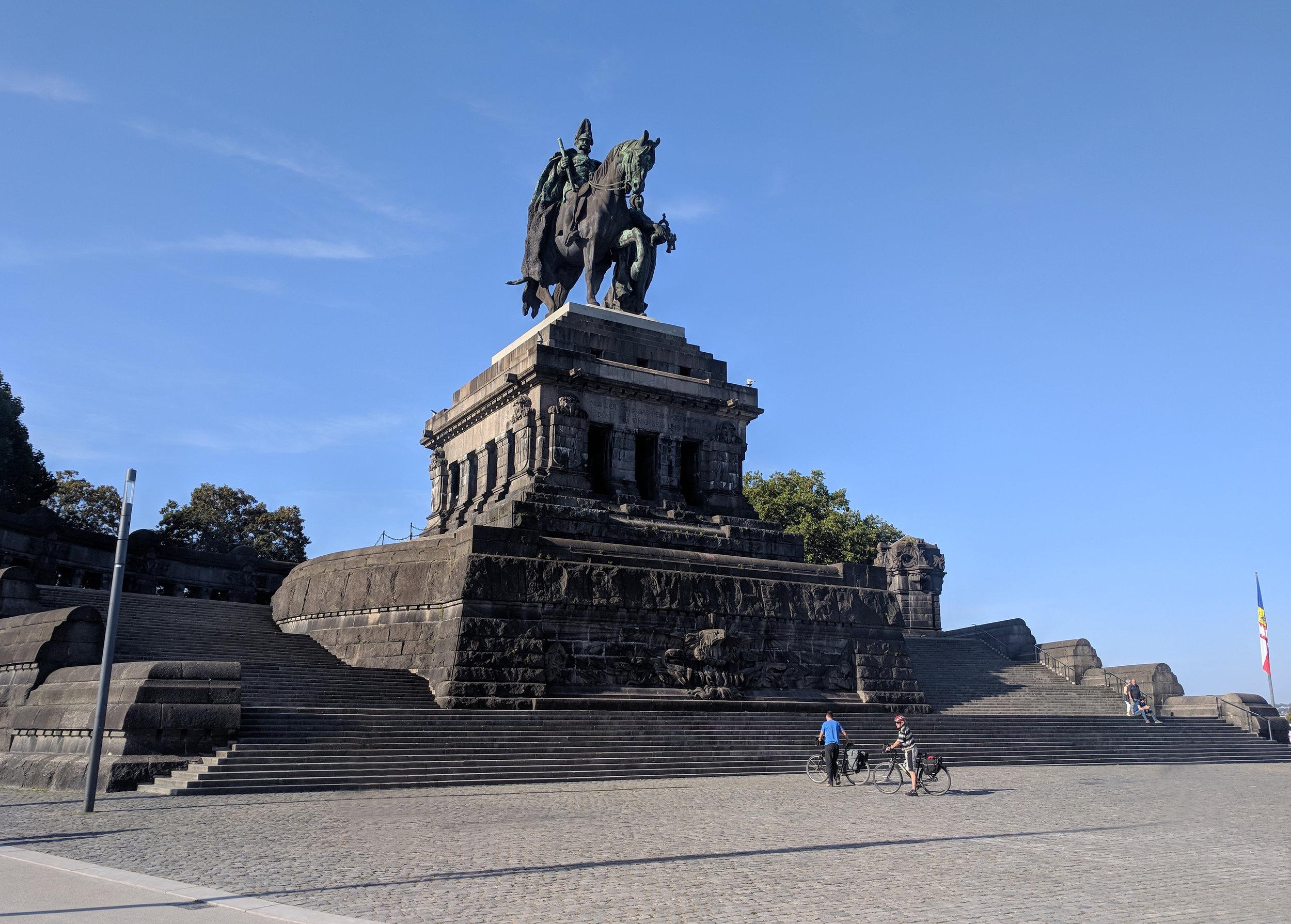 The German Corner where the Moselle and Rhine Meet