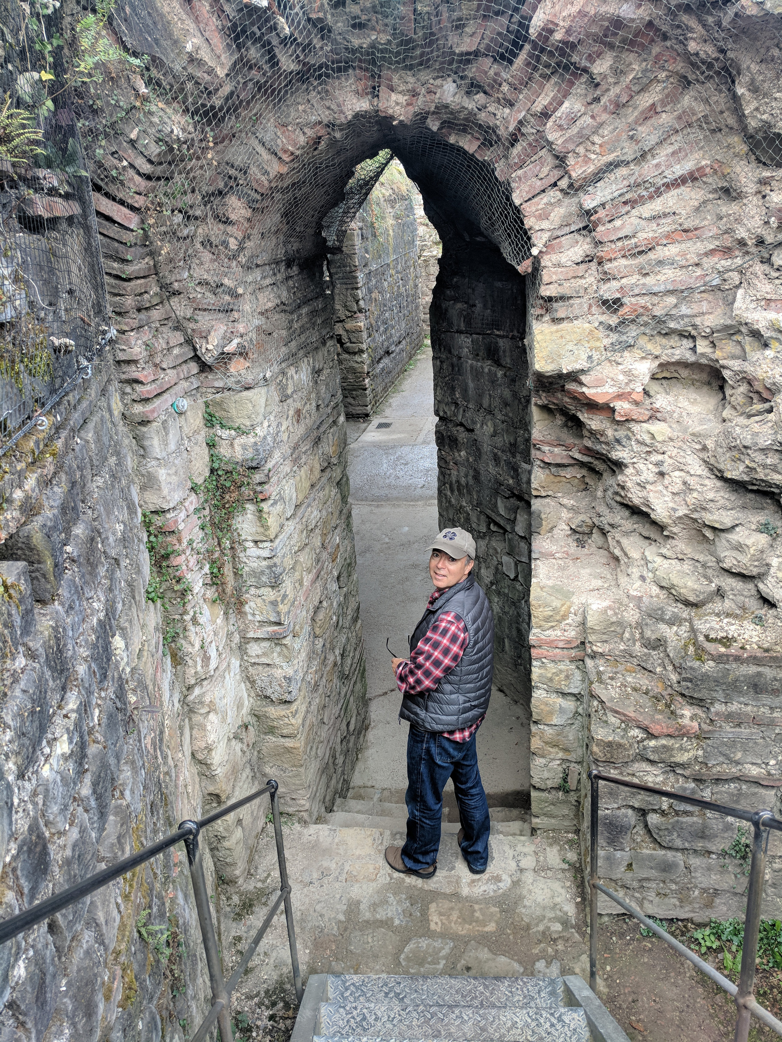 Iain explores the underground tunnels of the Roman baths