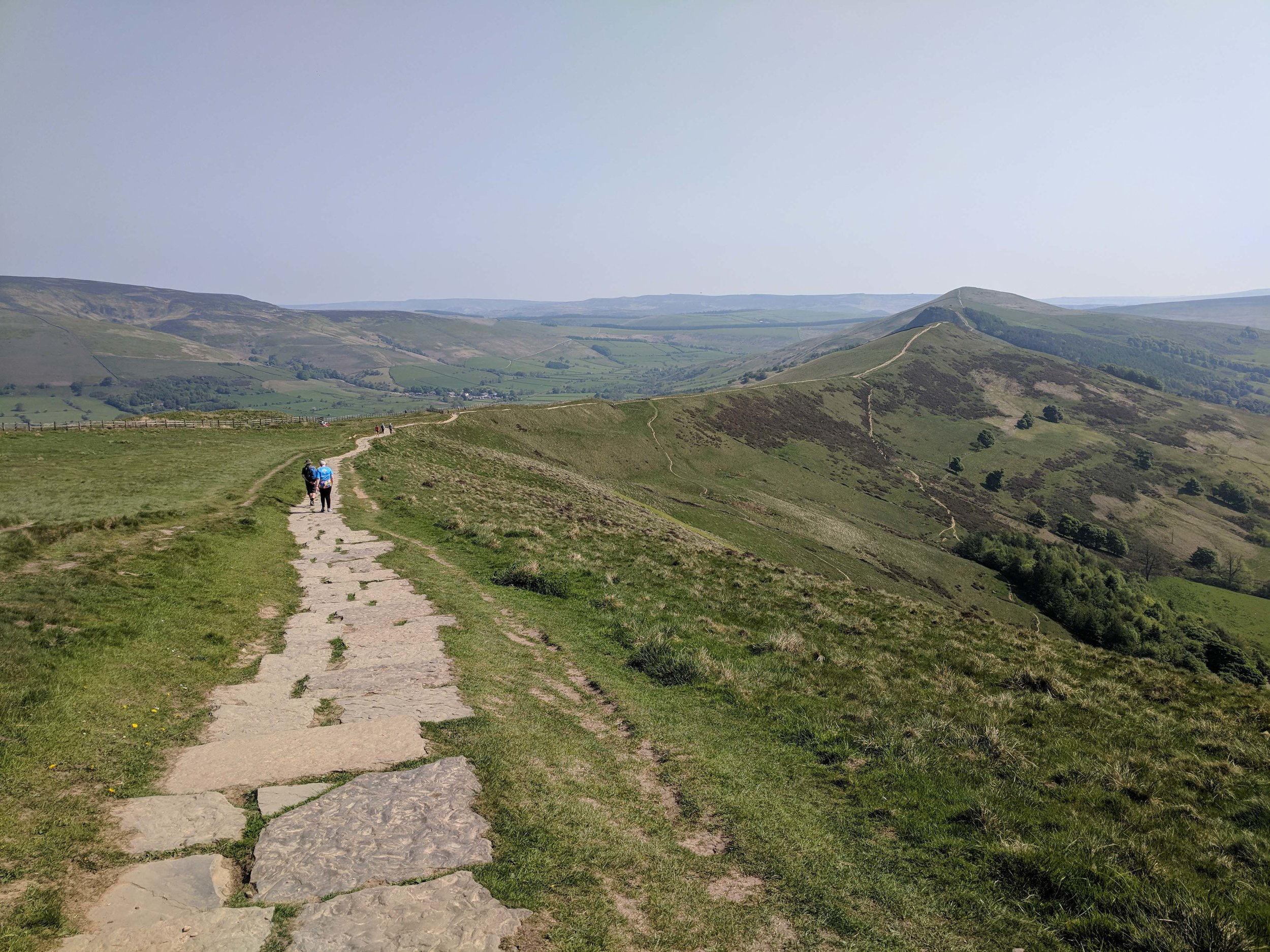 Beautiful hiking in the Peak District