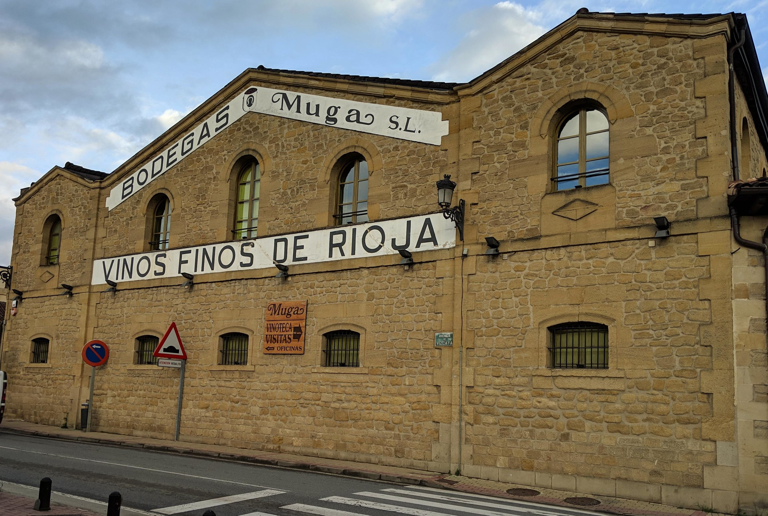 First stop - Haro in the Rioja region