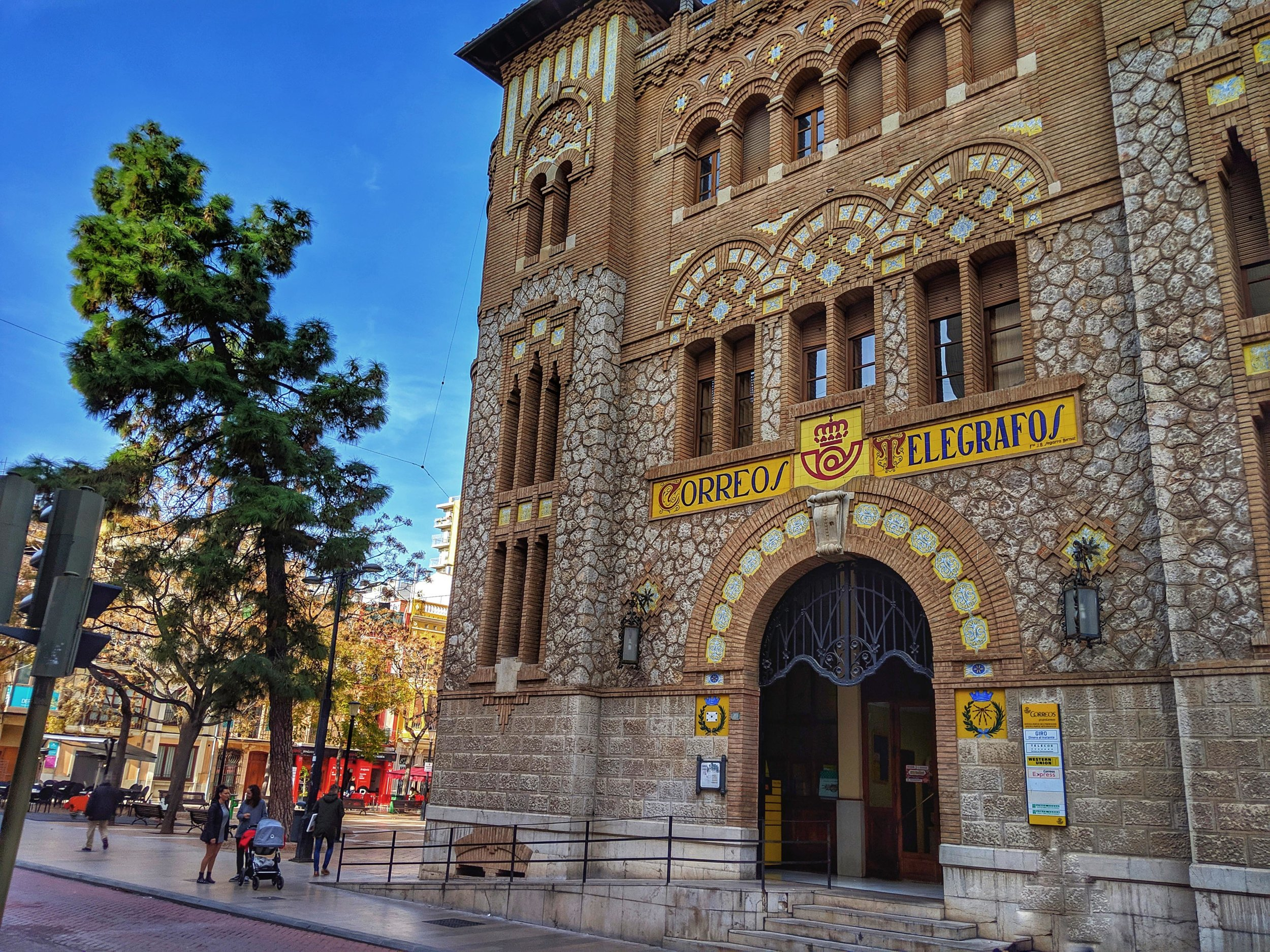 Is there an award for prettiest post office? Surely Castellon is a contender.