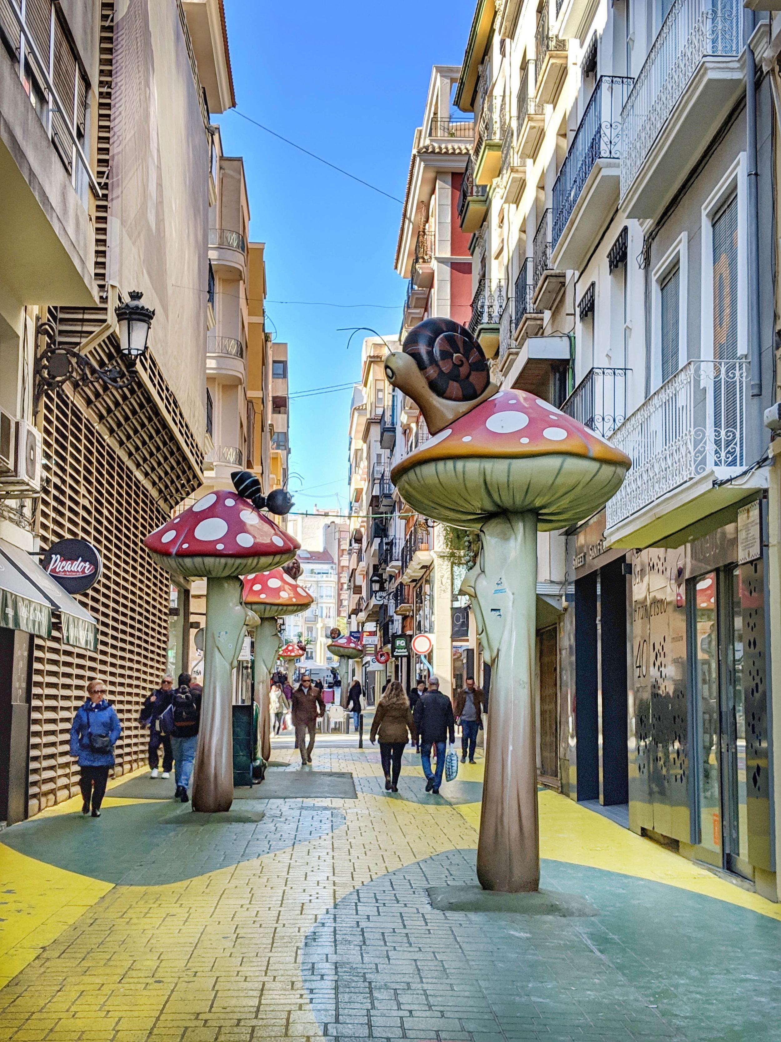 Strange sighting in Alicante