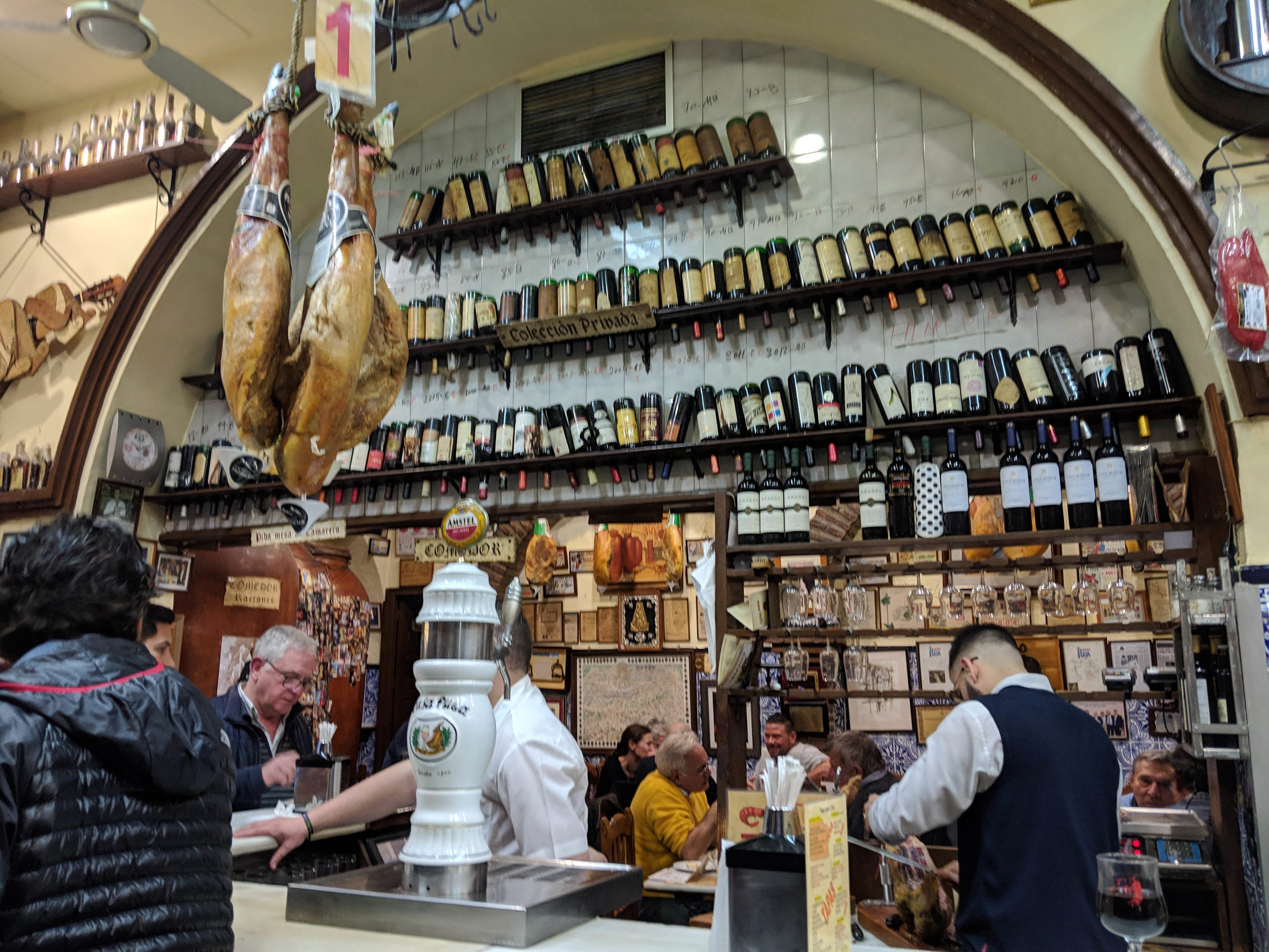 Casa Puga, one of the amazing traditional tapas bars